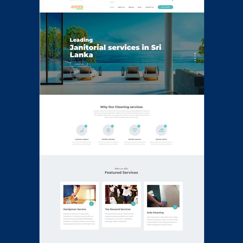 Web design company ui 2